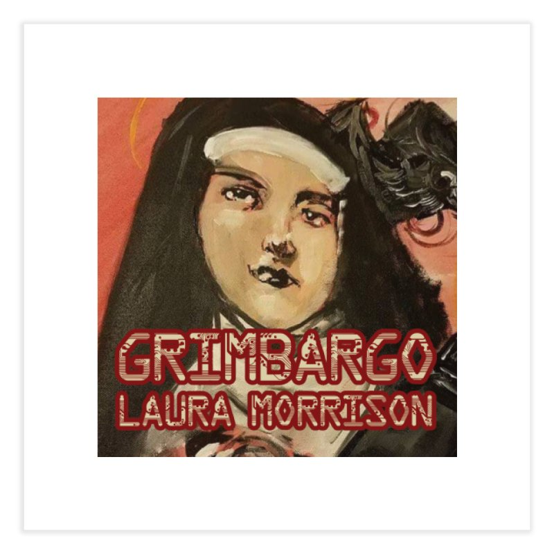 Grimbargo by Laura Morrison Home Fine Art Print by Spaceboy Books LLC's Artist Shop