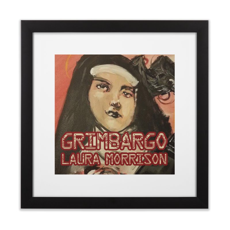 Grimbargo by Laura Morrison Home Framed Fine Art Print by Spaceboy Books LLC's Artist Shop