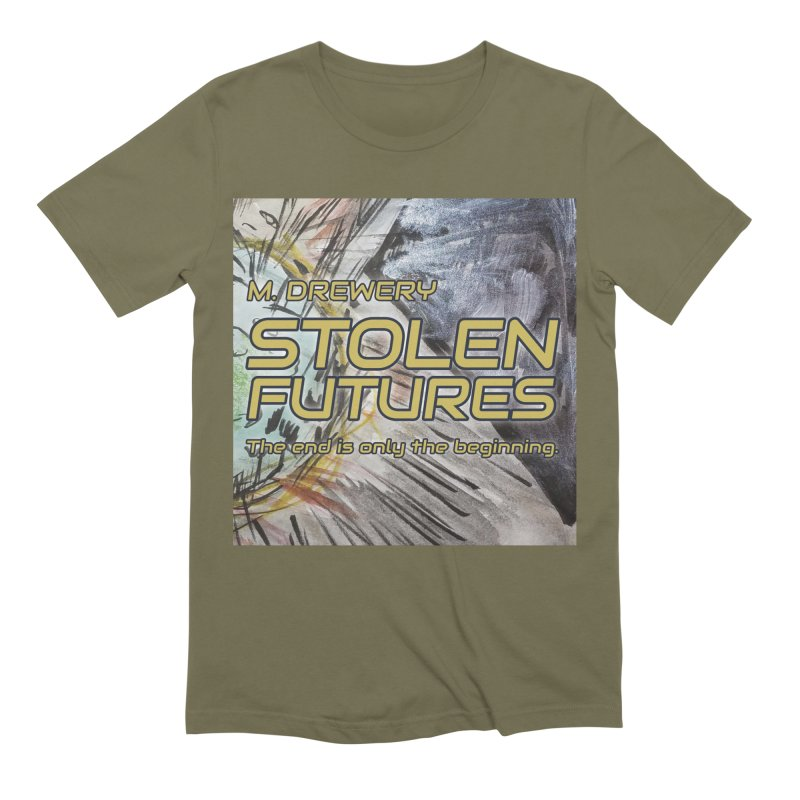 Stolen Futures Cover Art Men's Extra Soft T-Shirt by Spaceboy Books LLC's Artist Shop