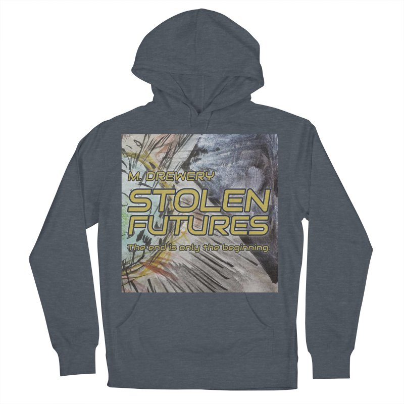 Stolen Futures Cover Art Women's French Terry Pullover Hoody by Spaceboy Books LLC's Artist Shop