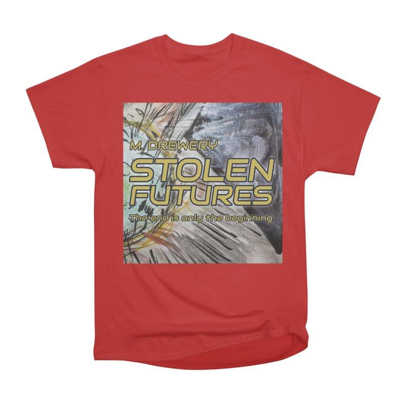 Stolen Futures Cover Art Men's Heavyweight T-Shirt by Spaceboy Books LLC's Artist Shop