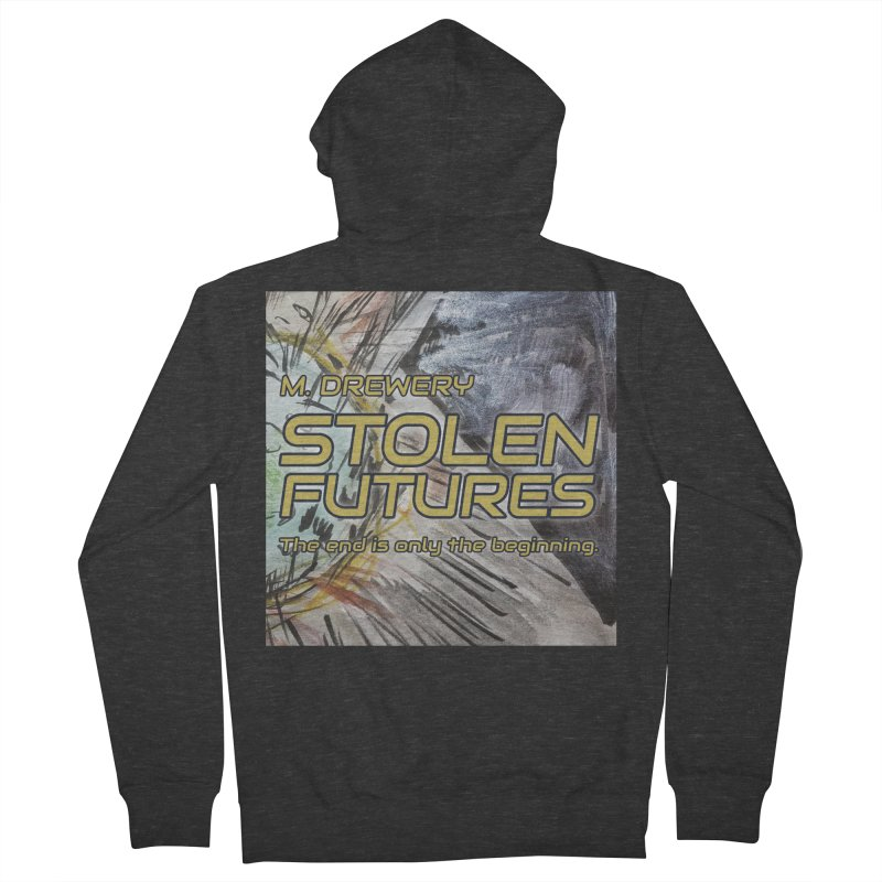 Stolen Futures Cover Art Women's French Terry Zip-Up Hoody by Spaceboy Books LLC's Artist Shop