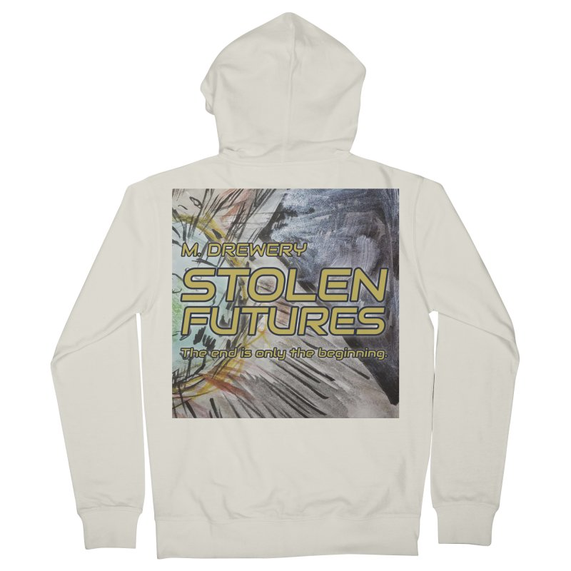 Stolen Futures Cover Art Men's French Terry Zip-Up Hoody by Spaceboy Books LLC's Artist Shop