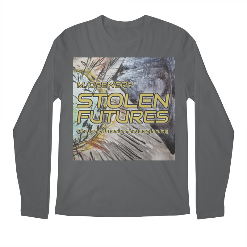 Stolen Futures Cover Art Men's Regular Longsleeve T-Shirt by Spaceboy Books LLC's Artist Shop