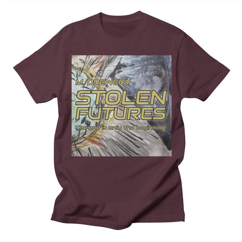 Stolen Futures Cover Art Men's Regular T-Shirt by Spaceboy Books LLC's Artist Shop