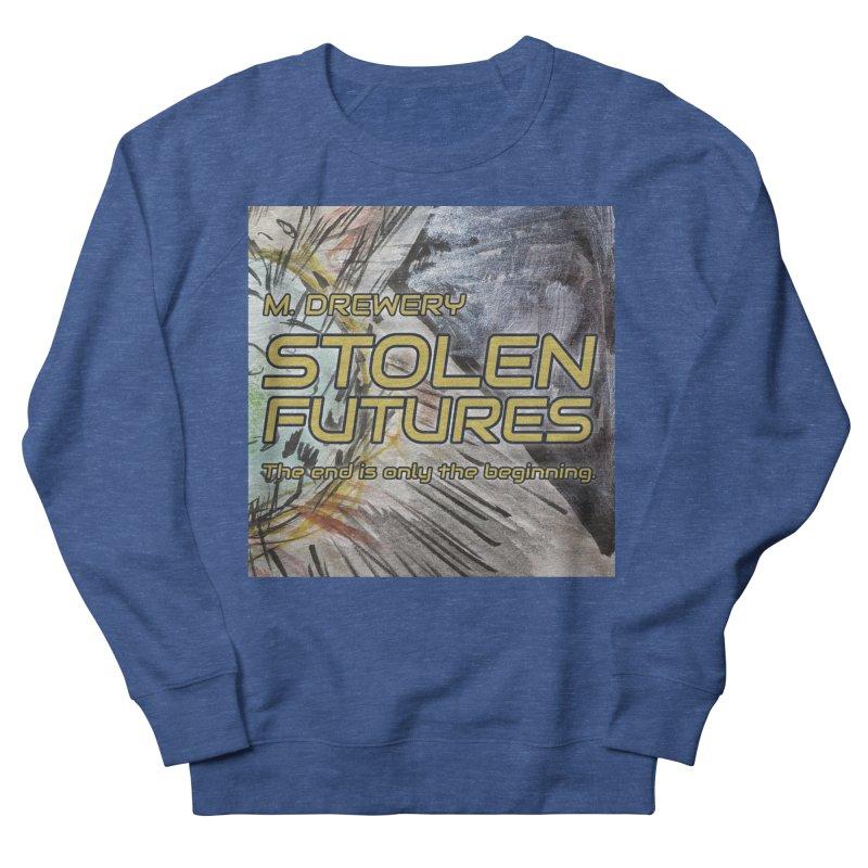 Stolen Futures Cover Art Men's French Terry Sweatshirt by Spaceboy Books LLC's Artist Shop