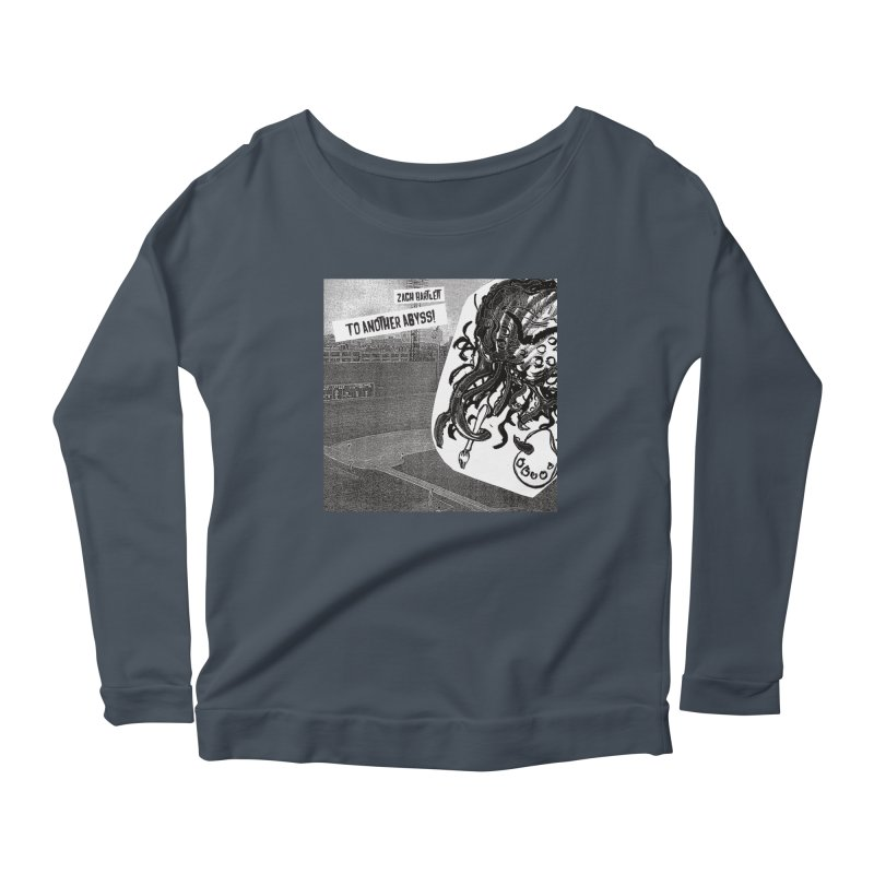 To Another Abyss! Women's Scoop Neck Longsleeve T-Shirt by Spaceboy Books LLC's Artist Shop