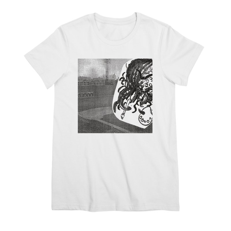 To Another Abyss! No Title Women's Premium T-Shirt by Spaceboy Books LLC's Artist Shop