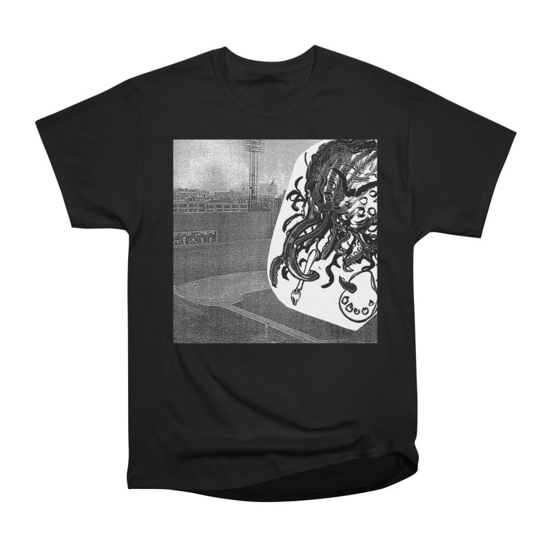 To Another Abyss! No Title Women's Heavyweight Unisex T-Shirt by Spaceboy Books LLC's Artist Shop