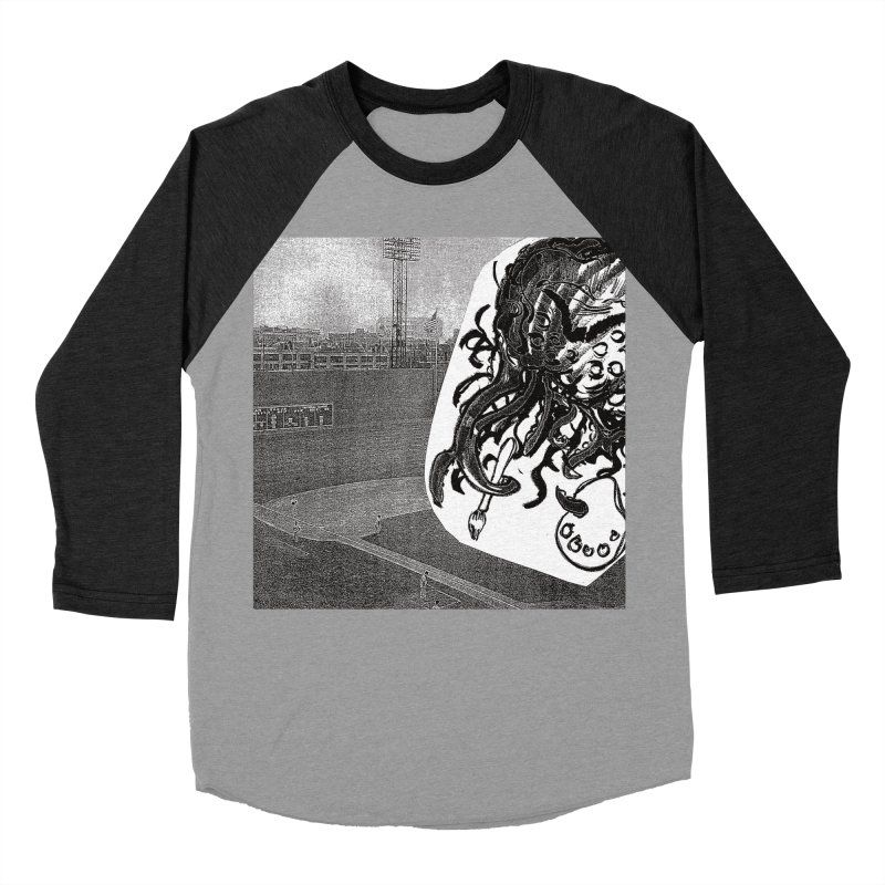 To Another Abyss! No Title Women's Baseball Triblend Longsleeve T-Shirt by Spaceboy Books LLC's Artist Shop
