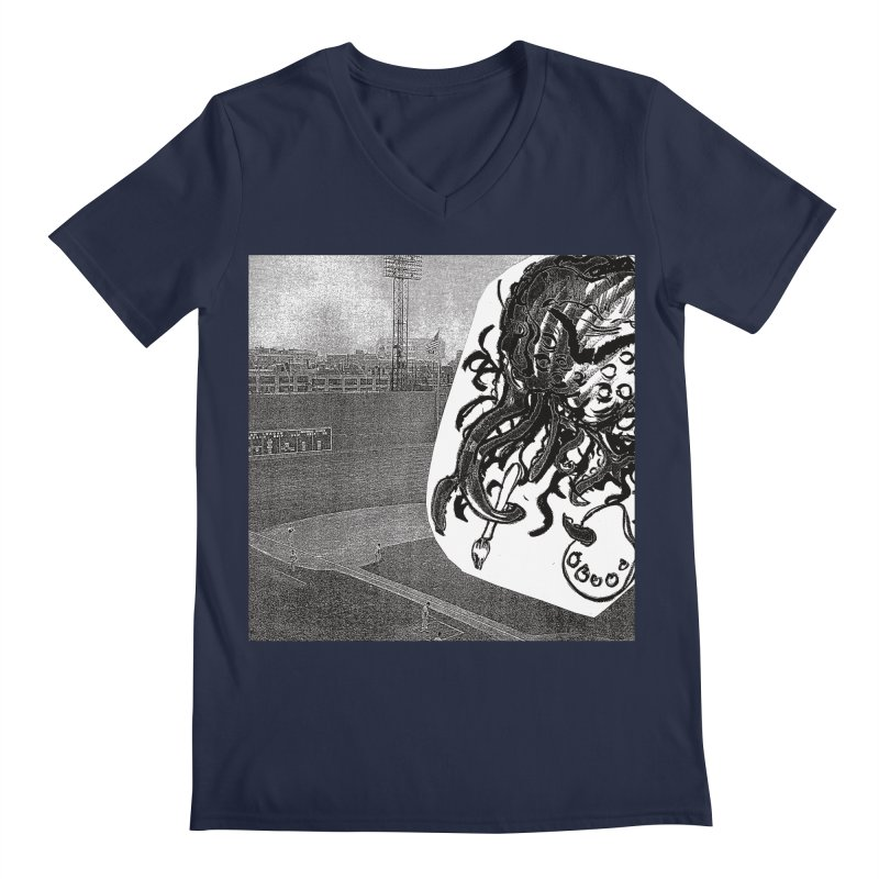 To Another Abyss! No Title Men's Regular V-Neck by Spaceboy Books LLC's Artist Shop
