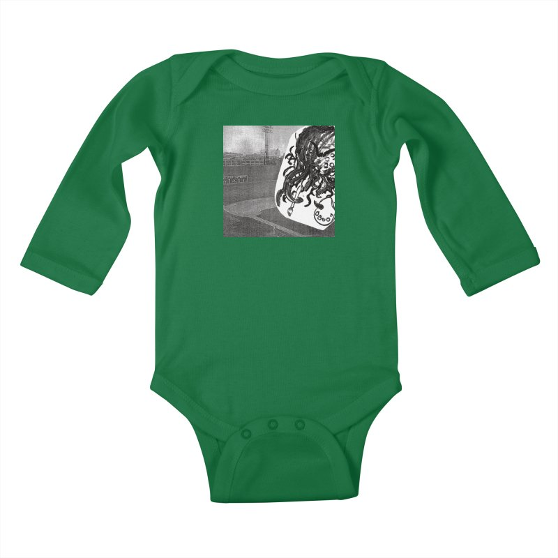 To Another Abyss! No Title Kids Baby Longsleeve Bodysuit by Spaceboy Books LLC's Artist Shop