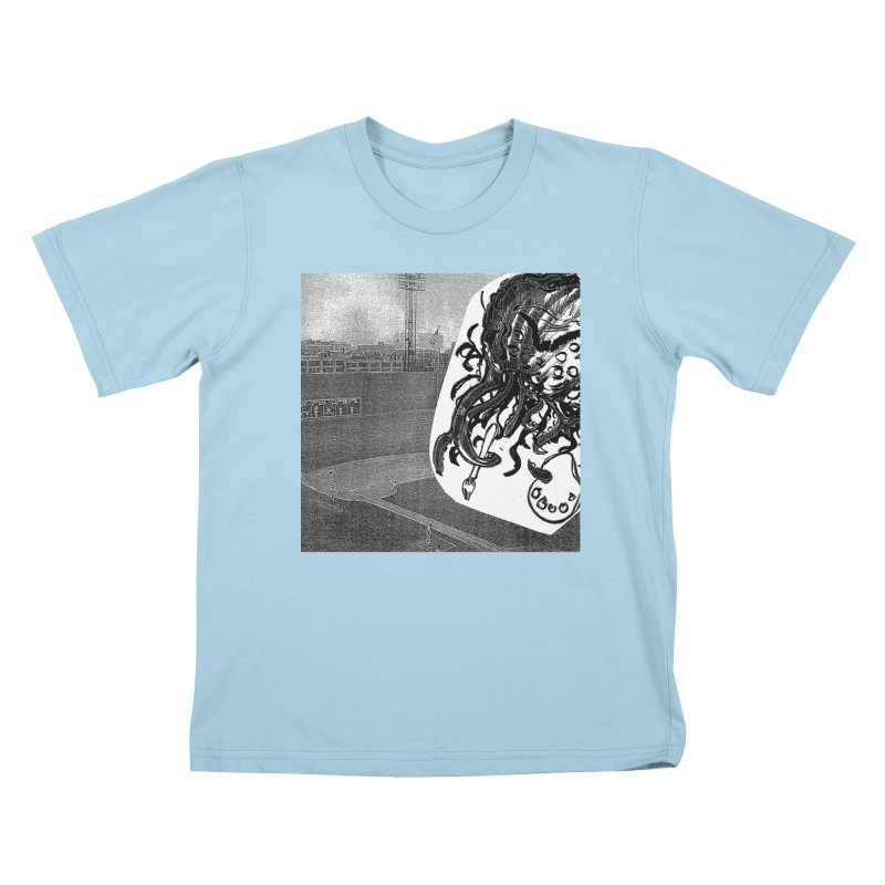 To Another Abyss! No Title Kids T-Shirt by Spaceboy Books LLC's Artist Shop