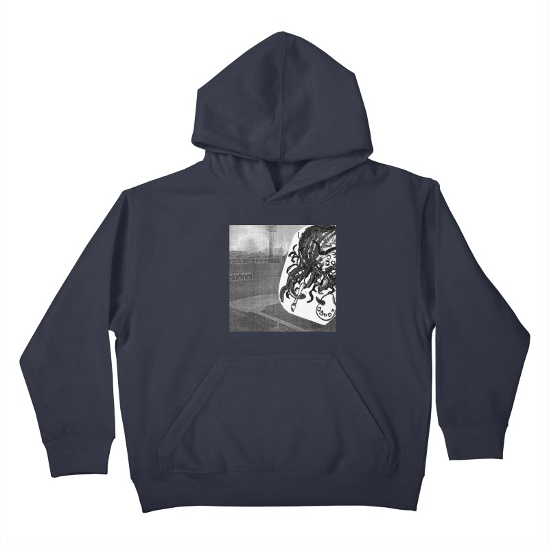 To Another Abyss! No Title Kids Pullover Hoody by Spaceboy Books LLC's Artist Shop