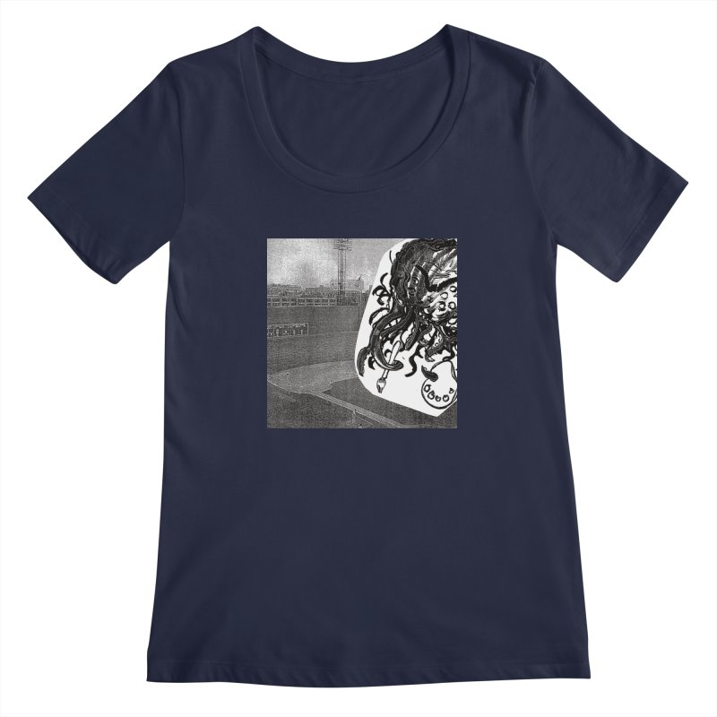 To Another Abyss! No Title Women's Regular Scoop Neck by Spaceboy Books LLC's Artist Shop