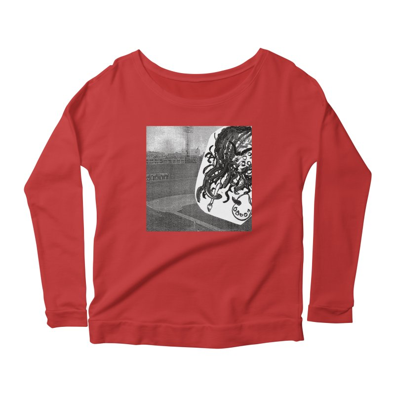 To Another Abyss! No Title Women's Scoop Neck Longsleeve T-Shirt by Spaceboy Books LLC's Artist Shop