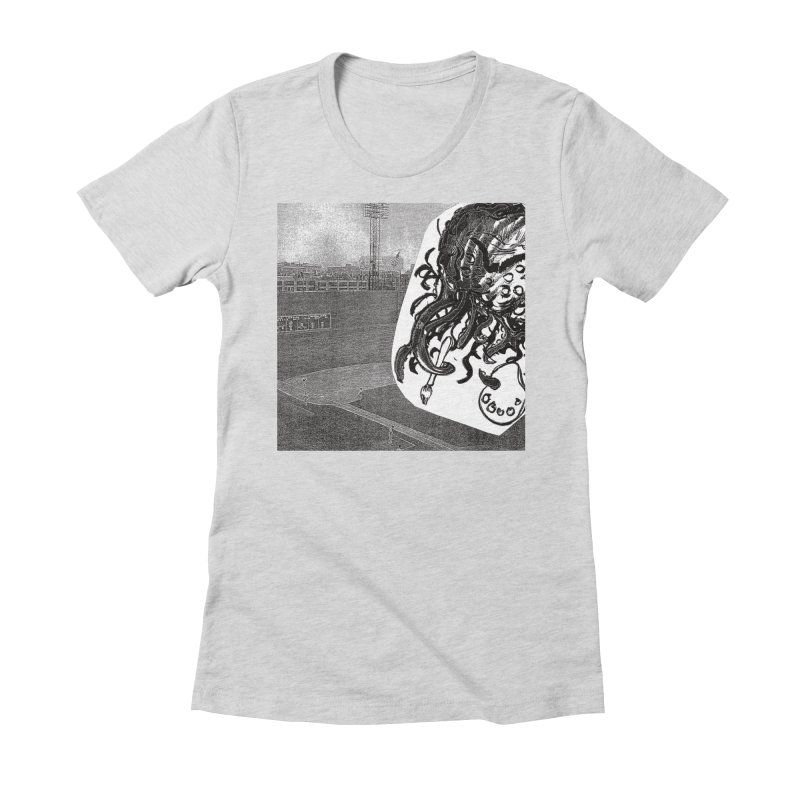 To Another Abyss! No Title Women's Fitted T-Shirt by Spaceboy Books LLC's Artist Shop