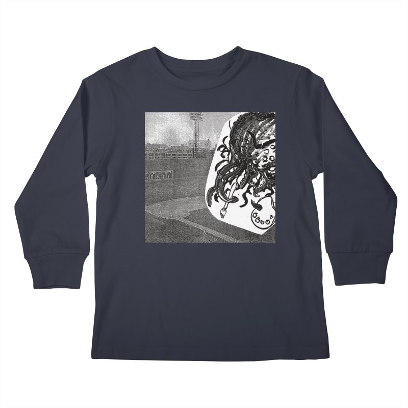 To Another Abyss! No Title Kids Longsleeve T-Shirt by Spaceboy Books LLC's Artist Shop