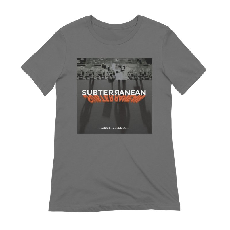 Subterranean Women's Extra Soft T-Shirt by Spaceboy Books LLC's Artist Shop