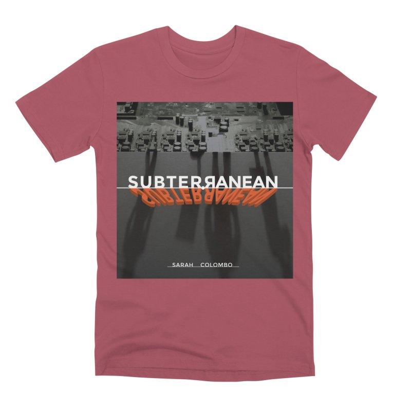 Subterranean Men's Premium T-Shirt by Spaceboy Books LLC's Artist Shop