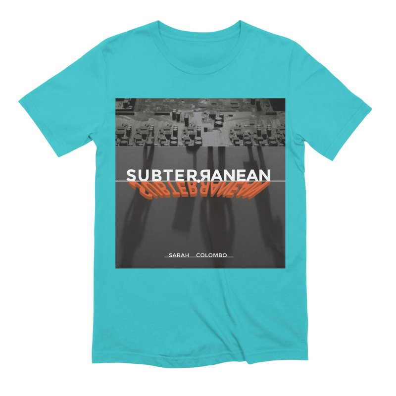 Subterranean Men's Extra Soft T-Shirt by Spaceboy Books LLC's Artist Shop