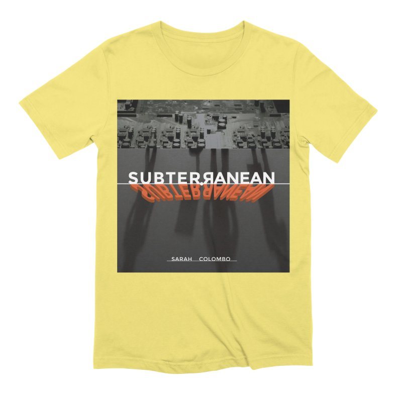 Subterranean Men's Extra Soft T-Shirt by Spaceboy Books LLC's Artist Shop