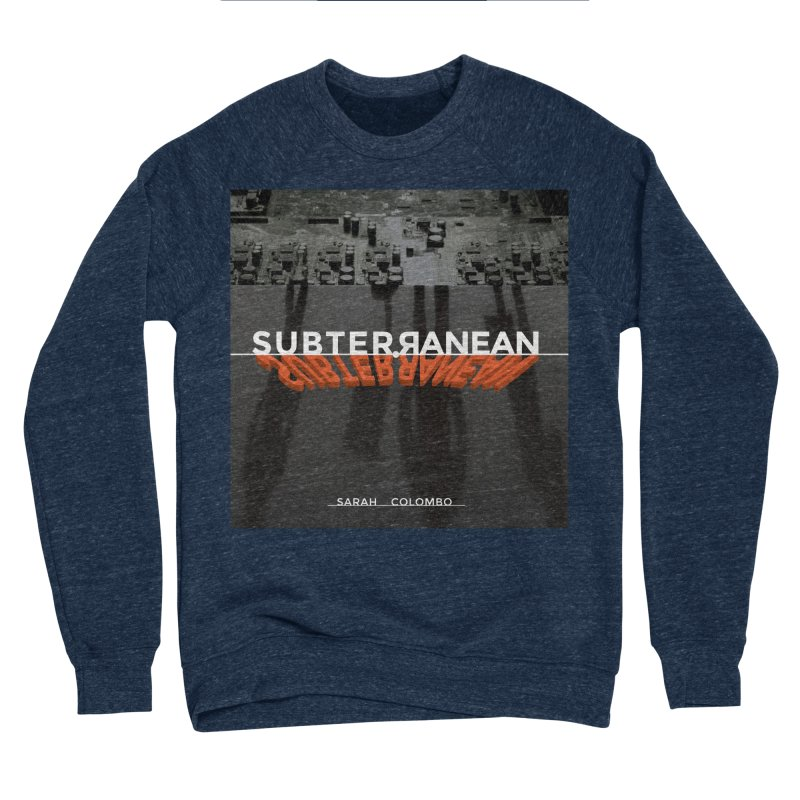 Subterranean Men's Sponge Fleece Sweatshirt by Spaceboy Books LLC's Artist Shop