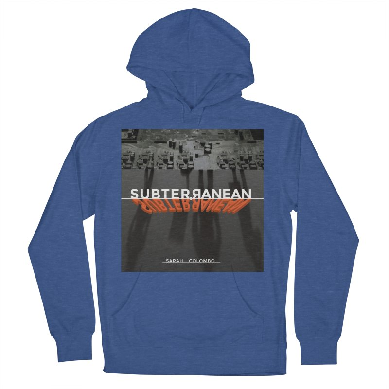 Subterranean Men's French Terry Pullover Hoody by Spaceboy Books LLC's Artist Shop