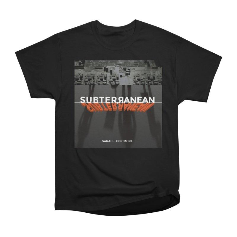 Subterranean Men's Heavyweight T-Shirt by Spaceboy Books LLC's Artist Shop