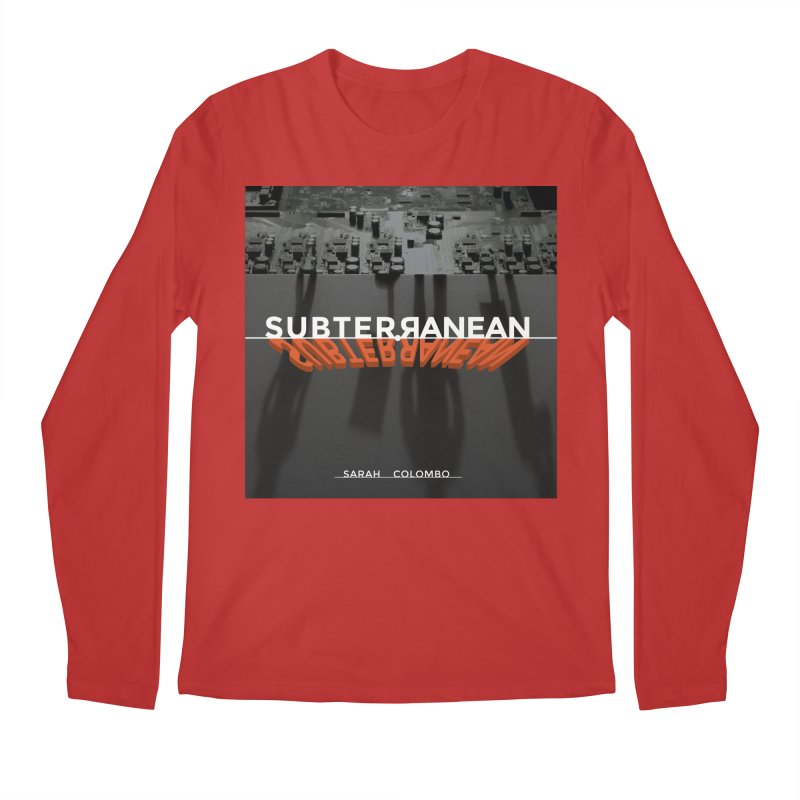Subterranean Men's Regular Longsleeve T-Shirt by Spaceboy Books LLC's Artist Shop