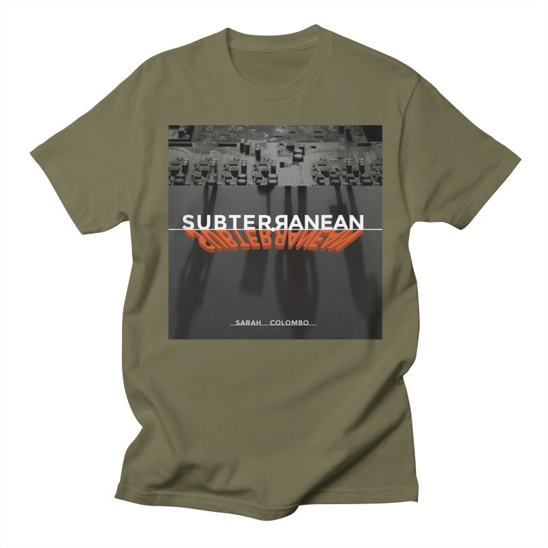 Subterranean Men's Regular T-Shirt by Spaceboy Books LLC's Artist Shop
