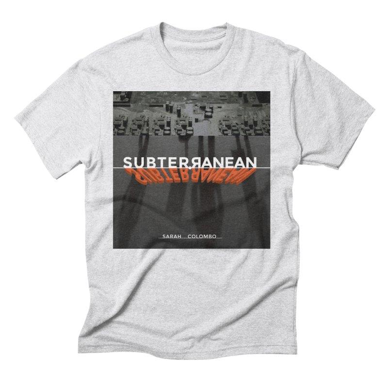 Subterranean Men's Triblend T-Shirt by Spaceboy Books LLC's Artist Shop