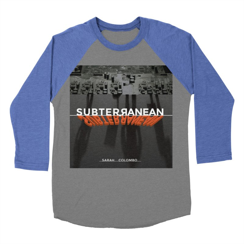 Subterranean Men's Baseball Triblend Longsleeve T-Shirt by Spaceboy Books LLC's Artist Shop