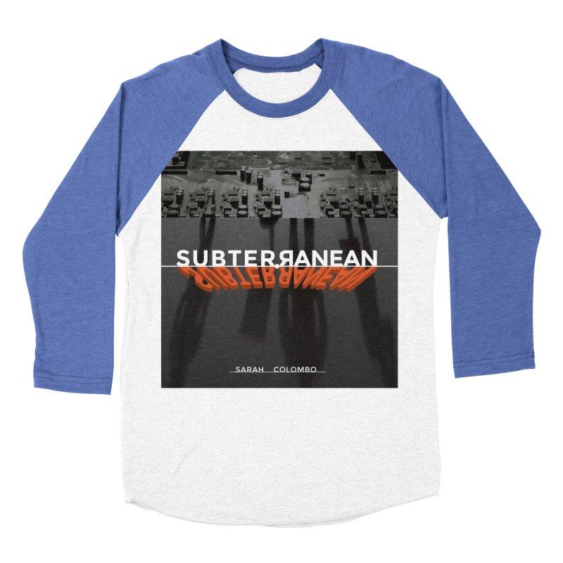 Subterranean Men's Baseball Triblend Longsleeve T-Shirt by Spaceboy Books LLC's Artist Shop