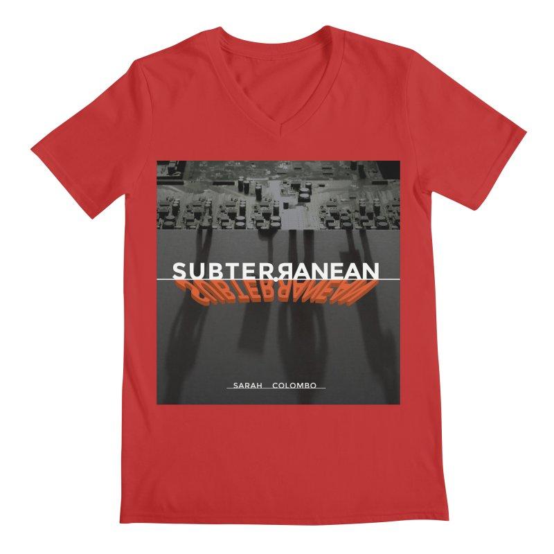Subterranean Men's V-Neck by Spaceboy Books LLC's Artist Shop