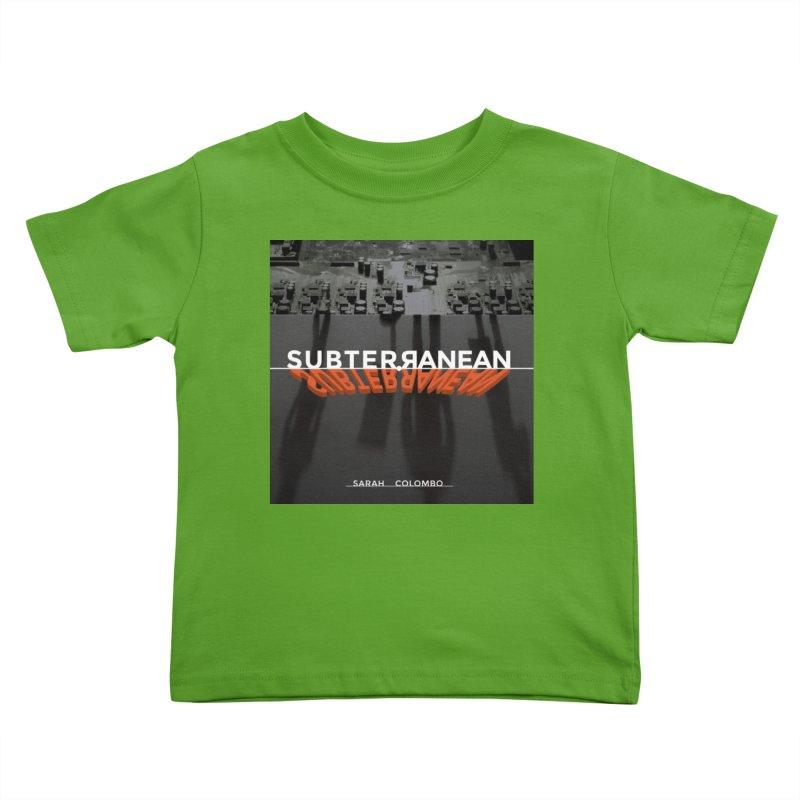 Subterranean Kids Toddler T-Shirt by Spaceboy Books LLC's Artist Shop
