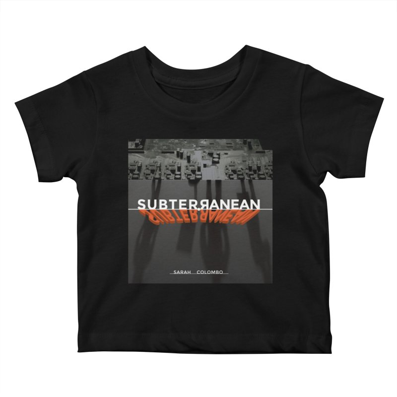 Subterranean Kids Baby T-Shirt by Spaceboy Books LLC's Artist Shop