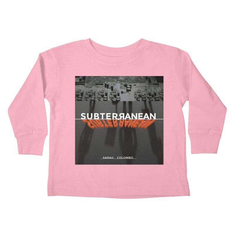 Subterranean Kids Toddler Longsleeve T-Shirt by Spaceboy Books LLC's Artist Shop