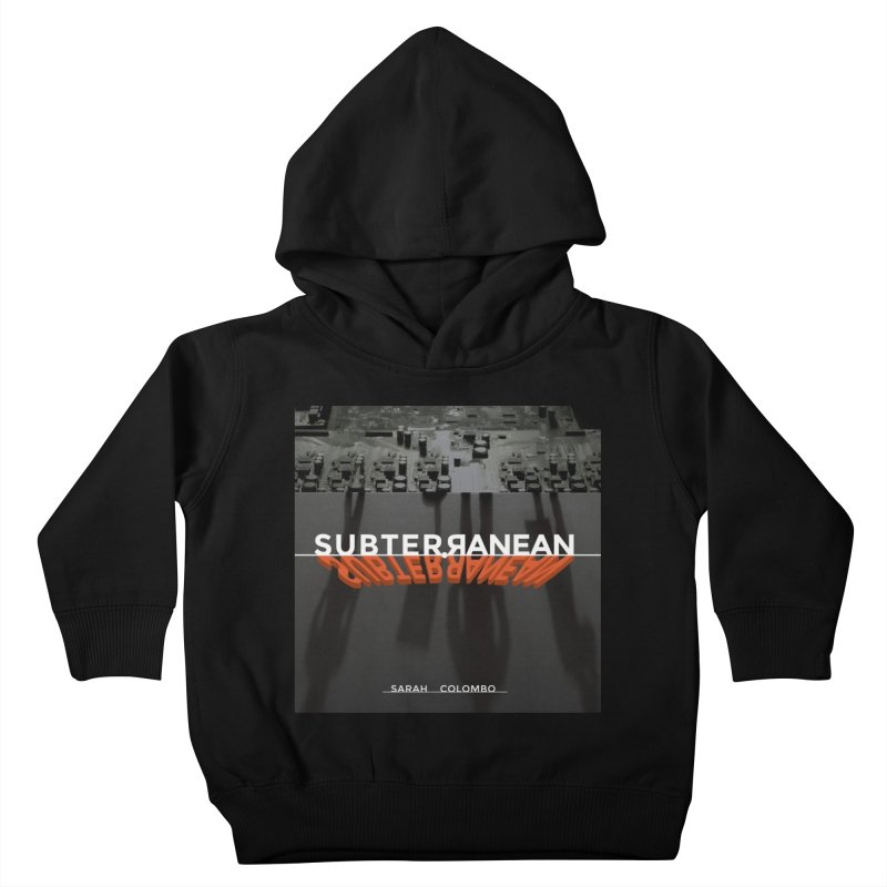 Subterranean Kids Toddler Pullover Hoody by Spaceboy Books LLC's Artist Shop