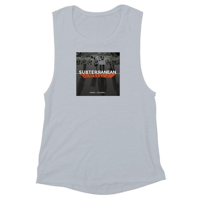 Subterranean Women's Muscle Tank by Spaceboy Books LLC's Artist Shop