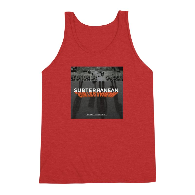 Subterranean Men's Triblend Tank by Spaceboy Books LLC's Artist Shop