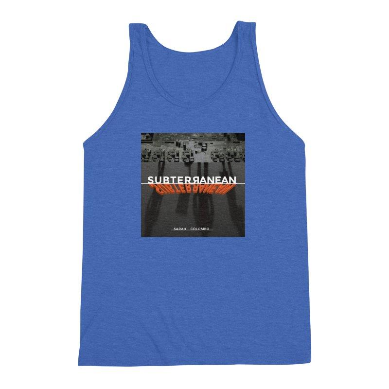 Subterranean Men's Triblend Tank by Spaceboy Books LLC's Artist Shop