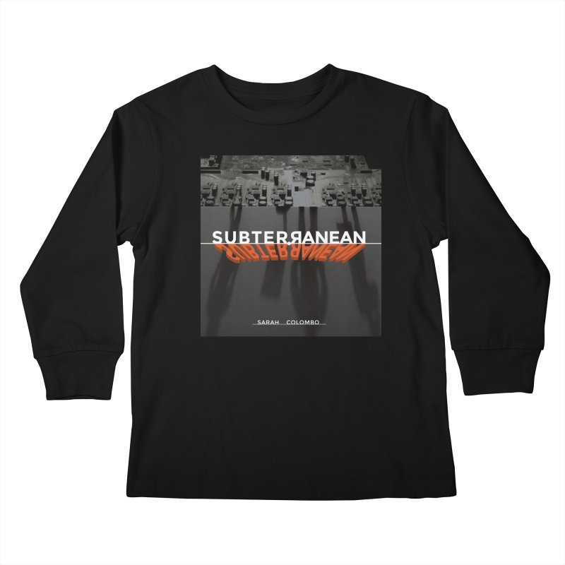 Subterranean Kids Longsleeve T-Shirt by Spaceboy Books LLC's Artist Shop