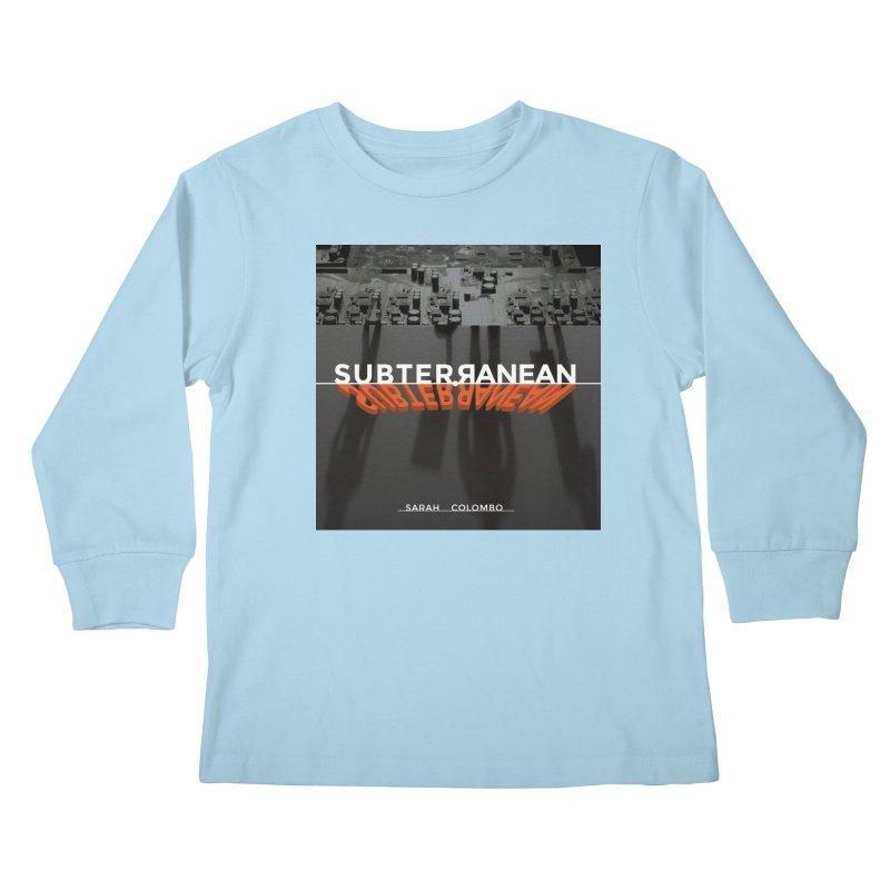 Subterranean Kids Longsleeve T-Shirt by Spaceboy Books LLC's Artist Shop