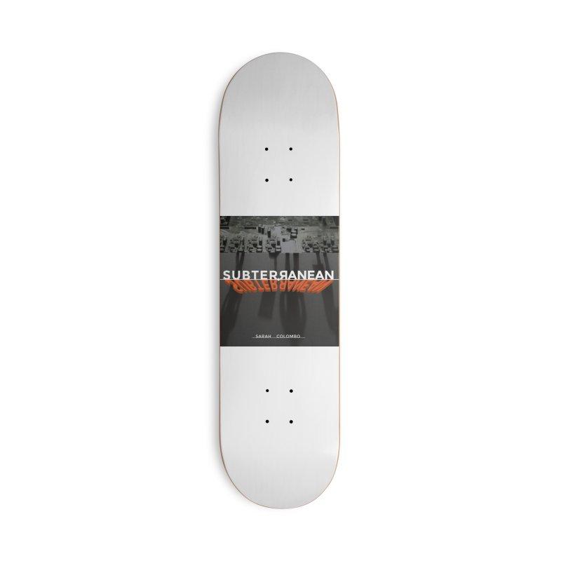 Subterranean Accessories Deck Only Skateboard by Spaceboy Books LLC's Artist Shop
