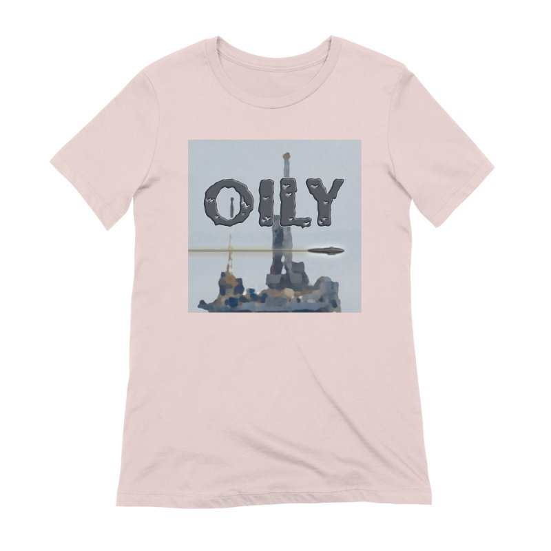 Oily Women's Extra Soft T-Shirt by Spaceboy Books LLC's Artist Shop
