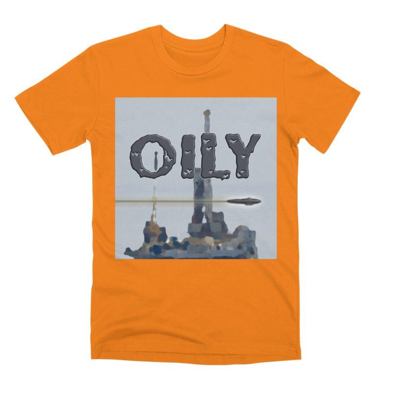 Oily Men's Premium T-Shirt by Spaceboy Books LLC's Artist Shop
