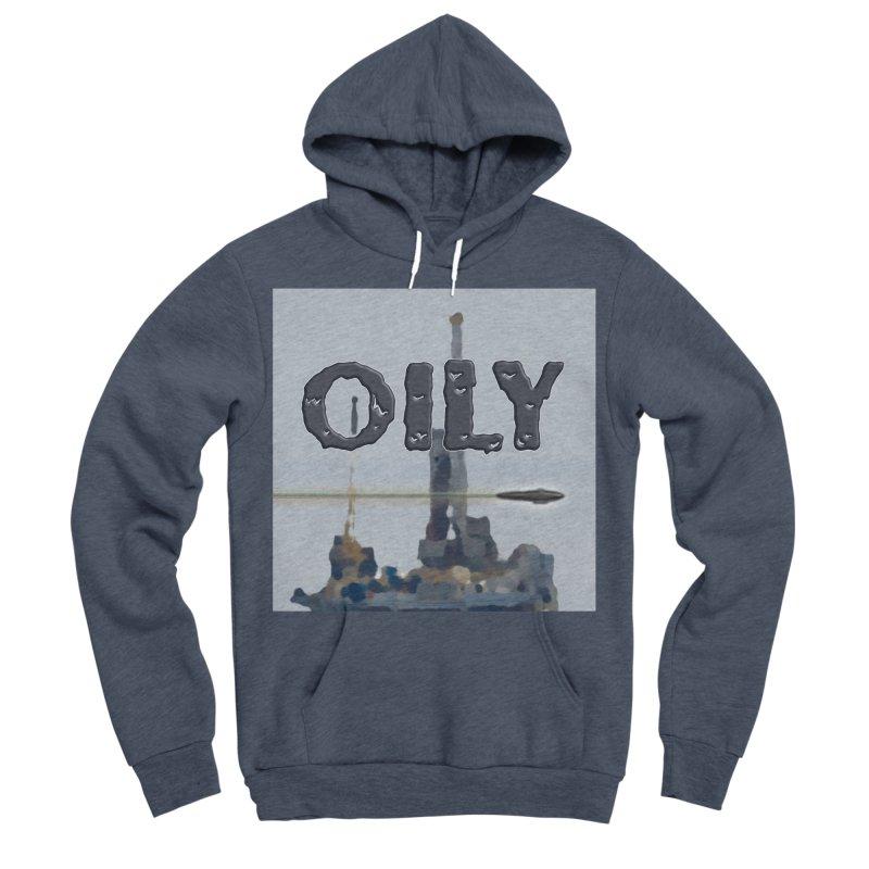 Oily Women's Sponge Fleece Pullover Hoody by Spaceboy Books LLC's Artist Shop