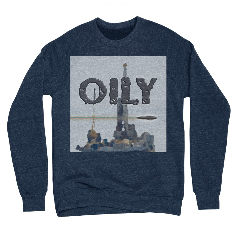 Oily Men's Sponge Fleece Sweatshirt by Spaceboy Books LLC's Artist Shop