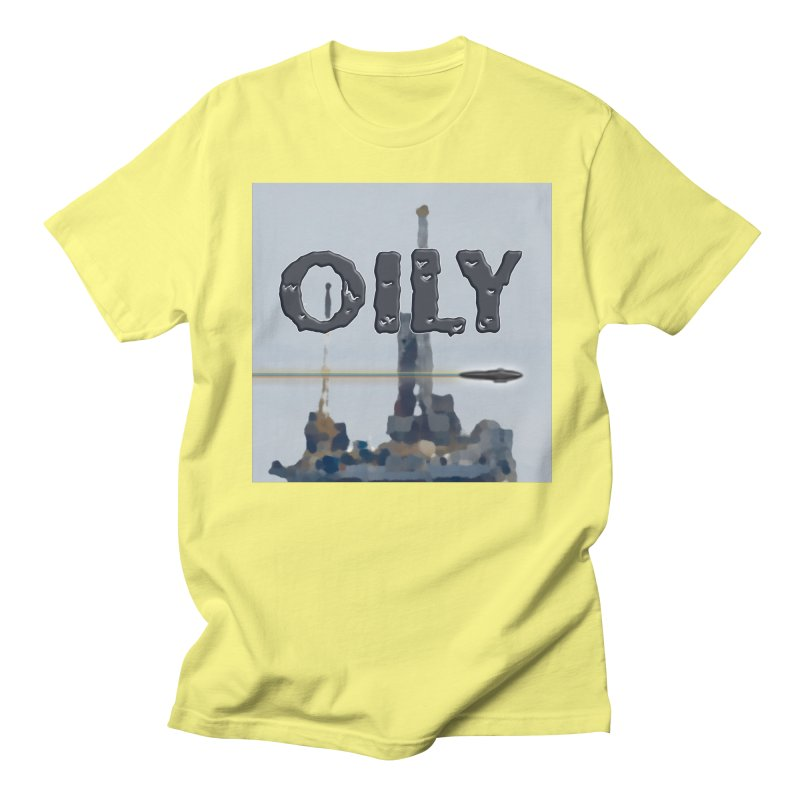 Oily Women's Regular Unisex T-Shirt by Spaceboy Books LLC's Artist Shop